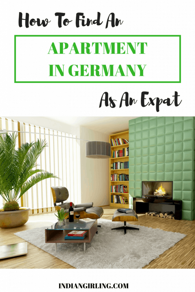 Apartment in Germany Pinterest Image