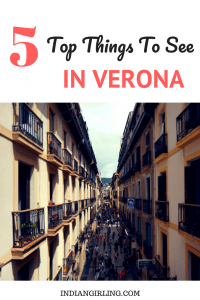 Things to See in Verona Pinterest Image