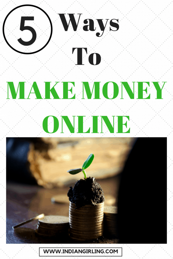 How To Make Money Online Pinterest Image