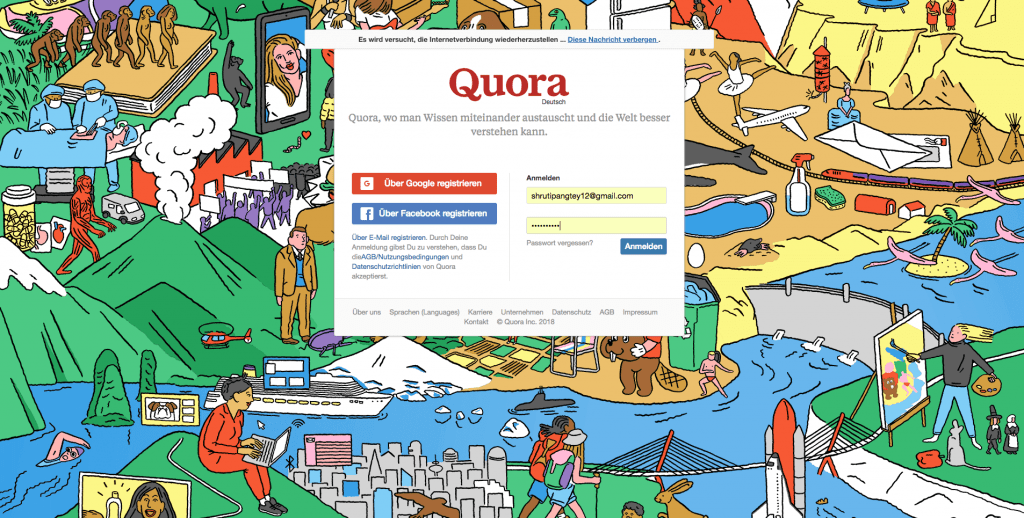 Quora Content Syndication Platform