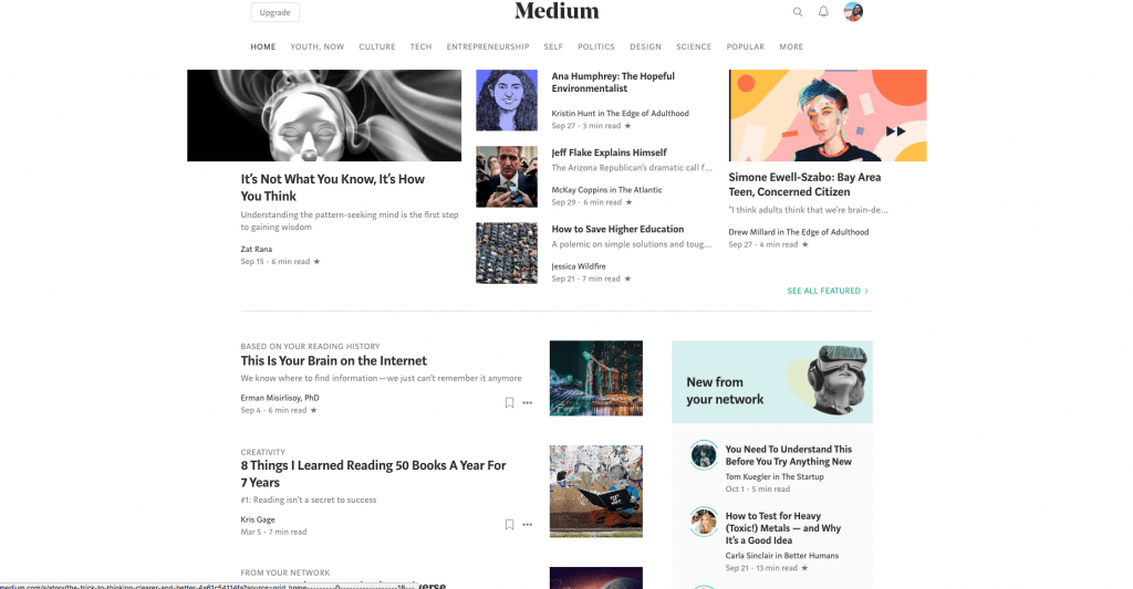 medium content syndication