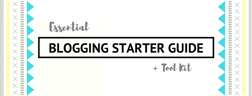 Blogging Starter Guide
