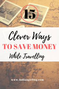 Travel Hacks For Saving Money Pinterest Image