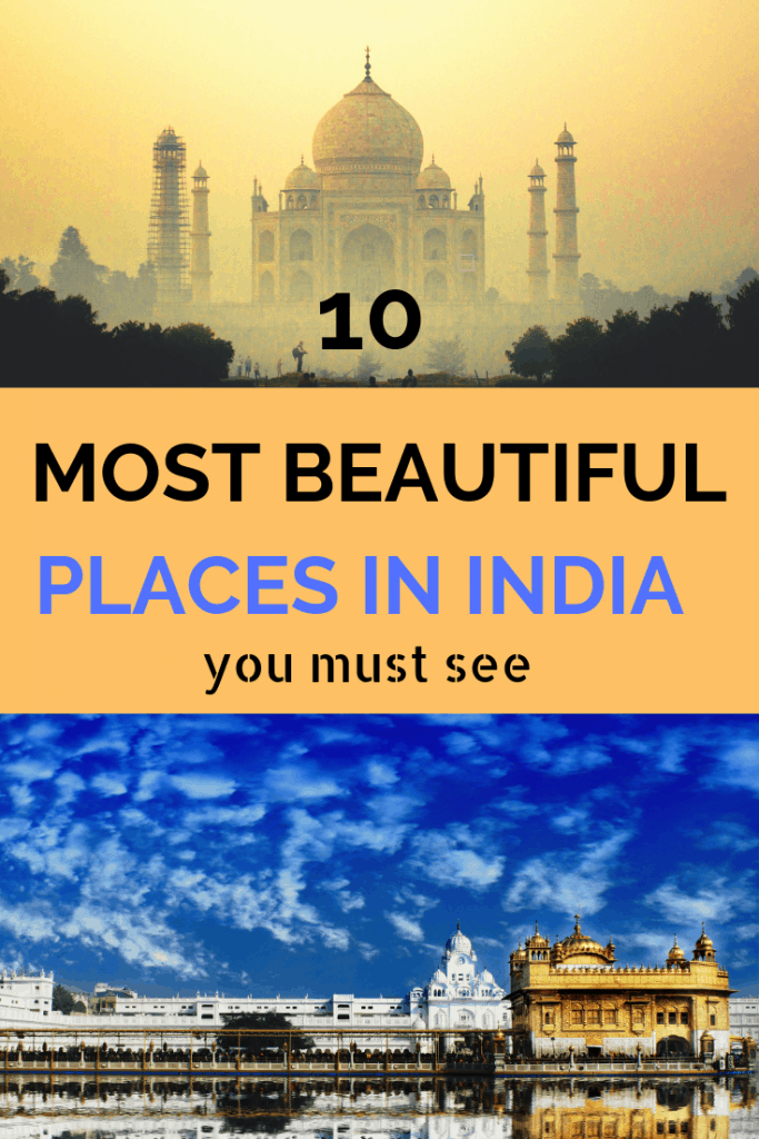 Best places to visit in india pinterest image