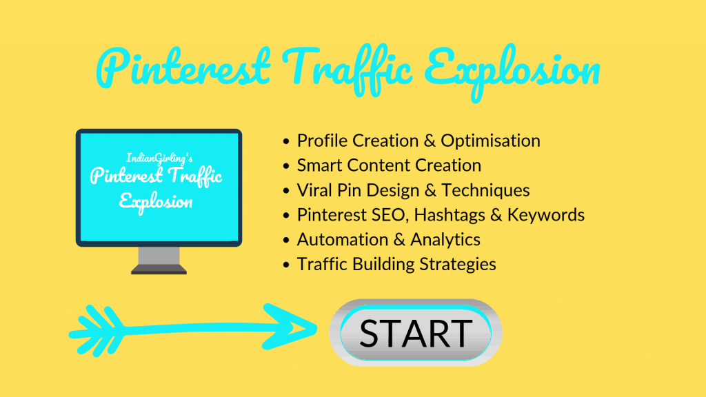 Pinterest Traffic Explosion Course Blog Banner