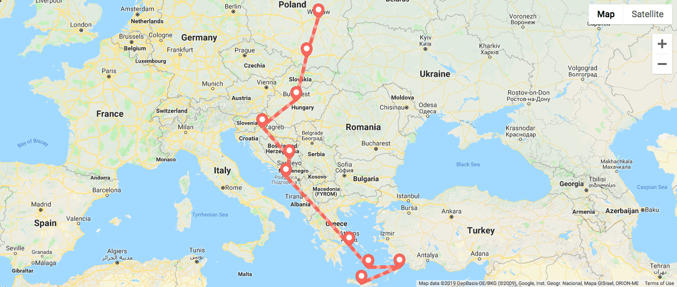 itinerary 2