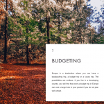 Budgeting Chapter