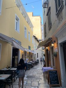 Zadar old town streets