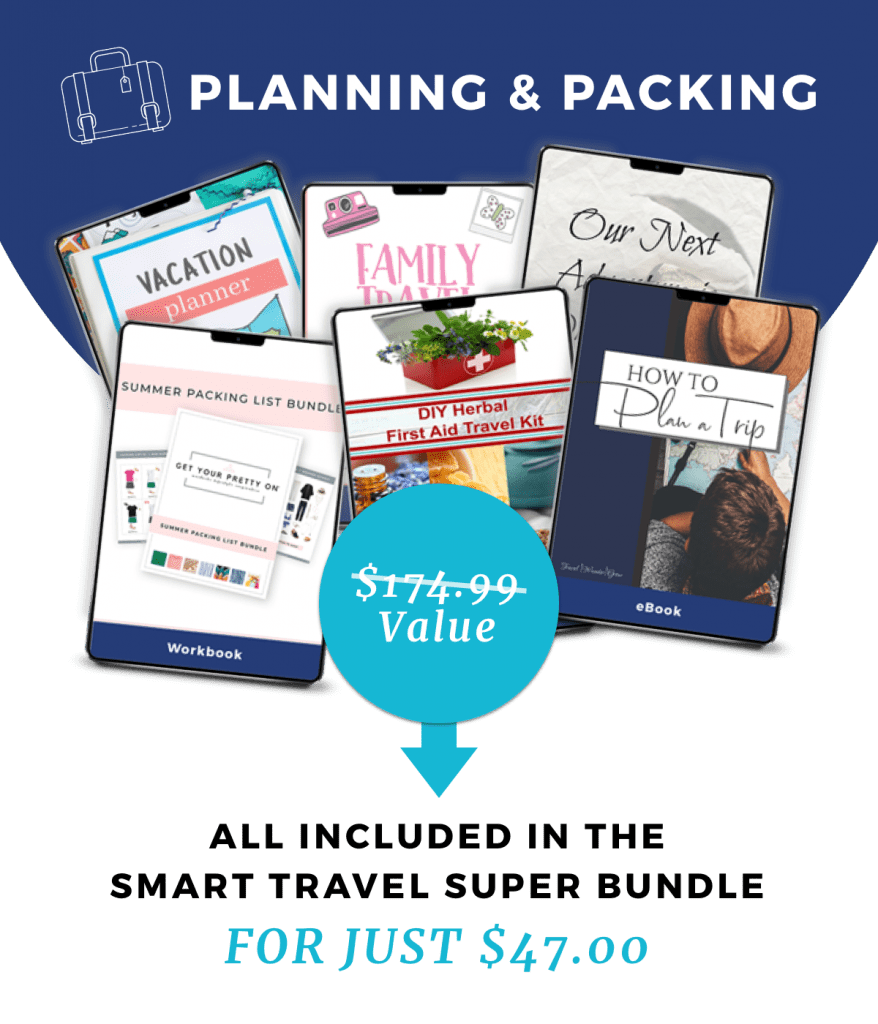 planning and packing bundle