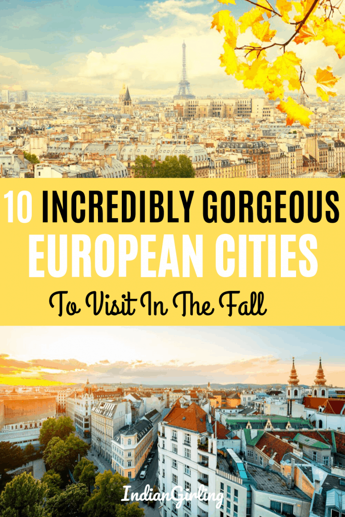 best cities to visit in europe in october pinterest image