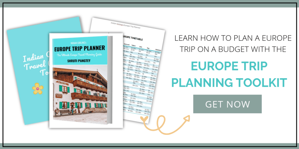Europe trip planner toolkit