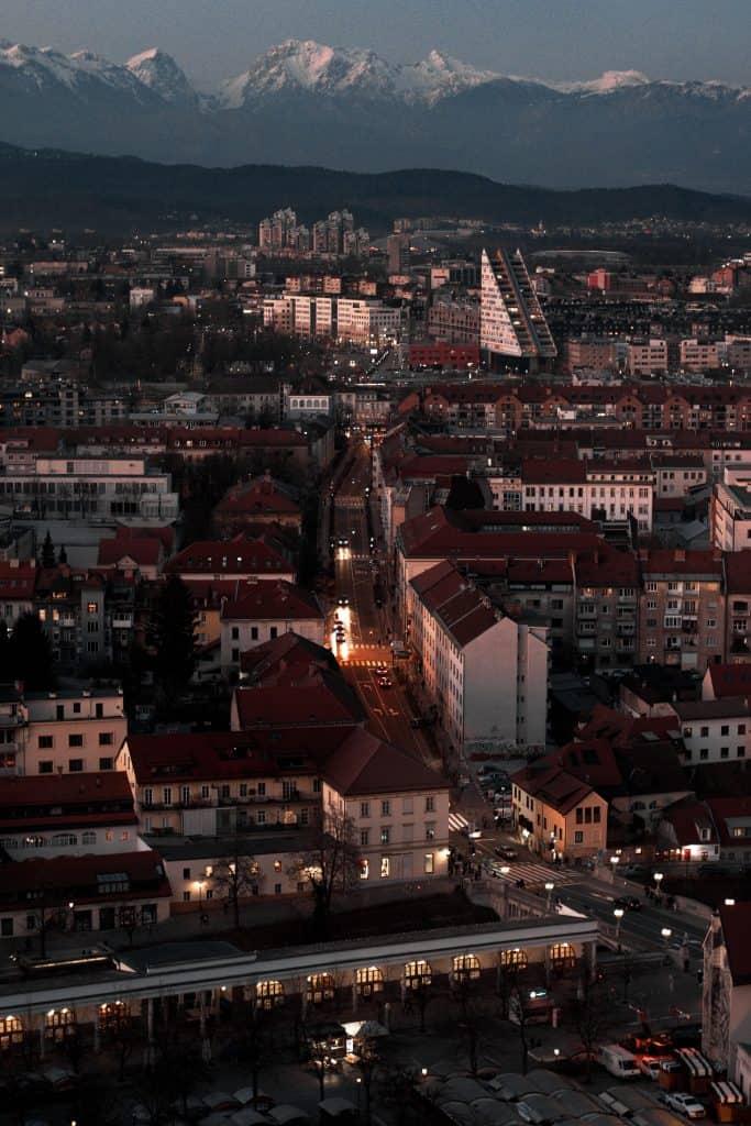 slovenia itinerary :ljubljlana