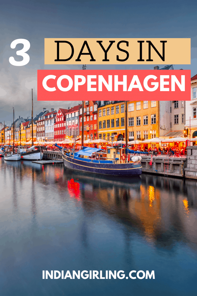 3 days in copenhagen: pinterest image.