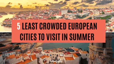 least crowded european cities in the summer