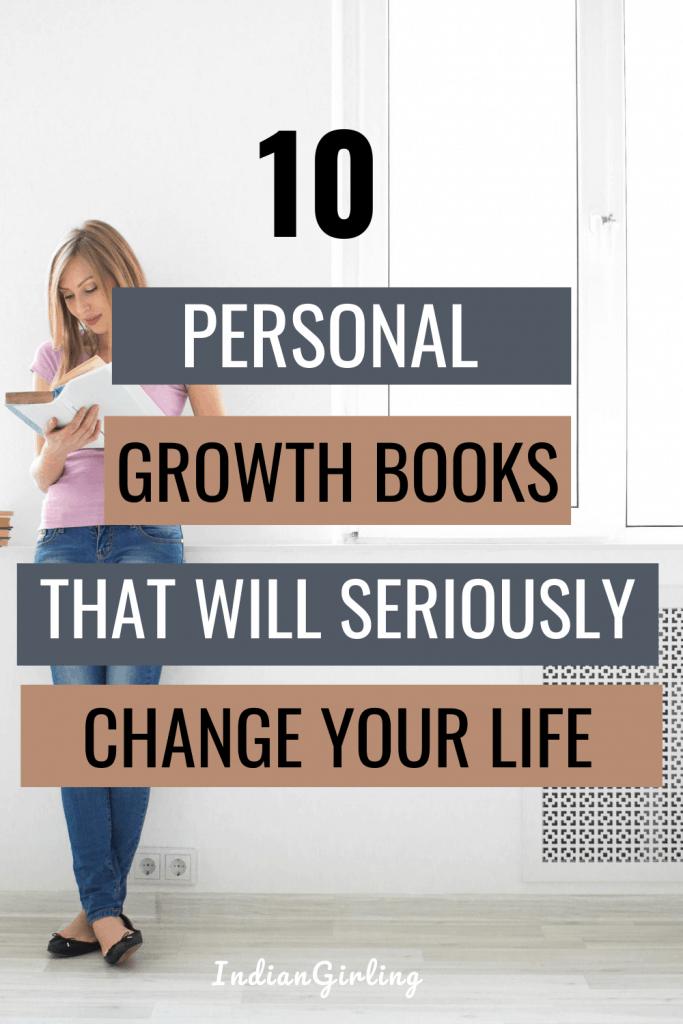 best personal development books - pinterest image