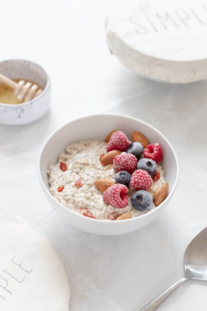 Foods to eat when feeling stressed- Oatmeal