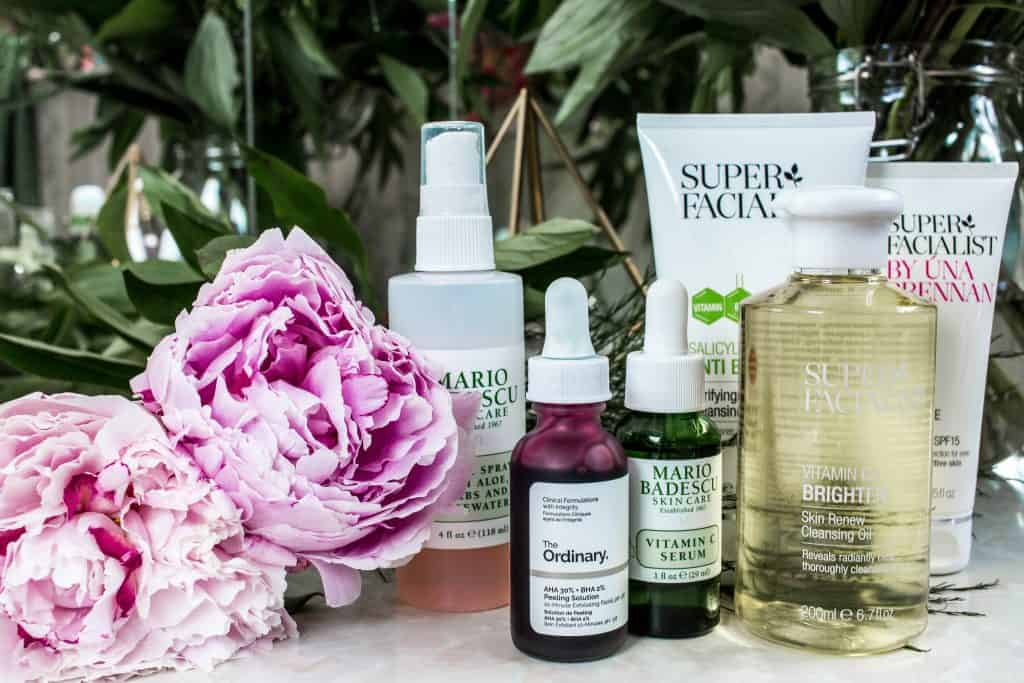 Younger looking skin- Face serums - Vitamin A & C