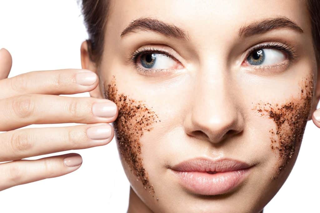 over exfoliating ages your skin